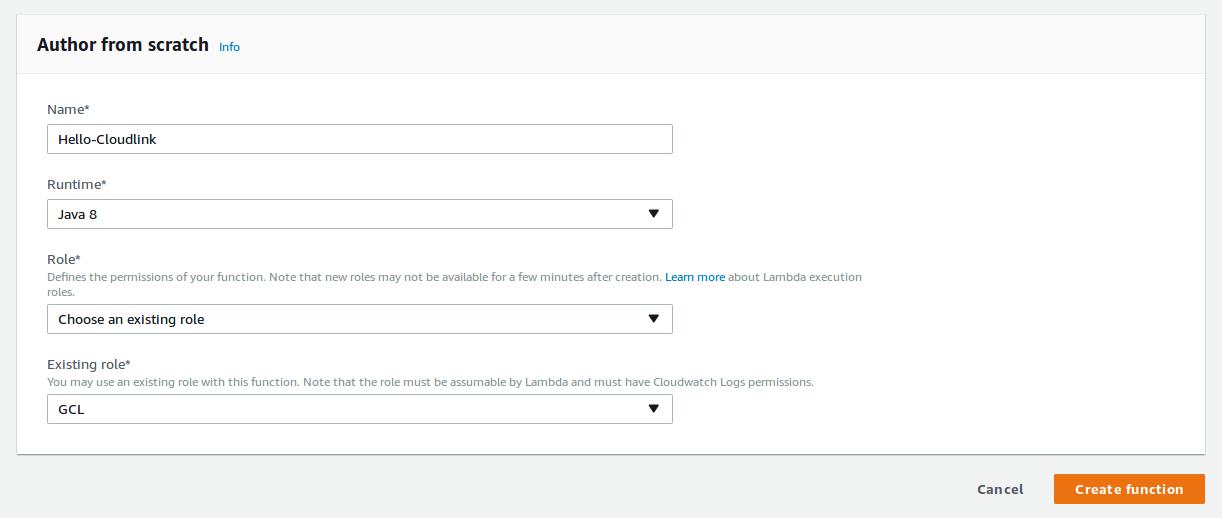 Create Remote Functions using Amazon AWS Lambda