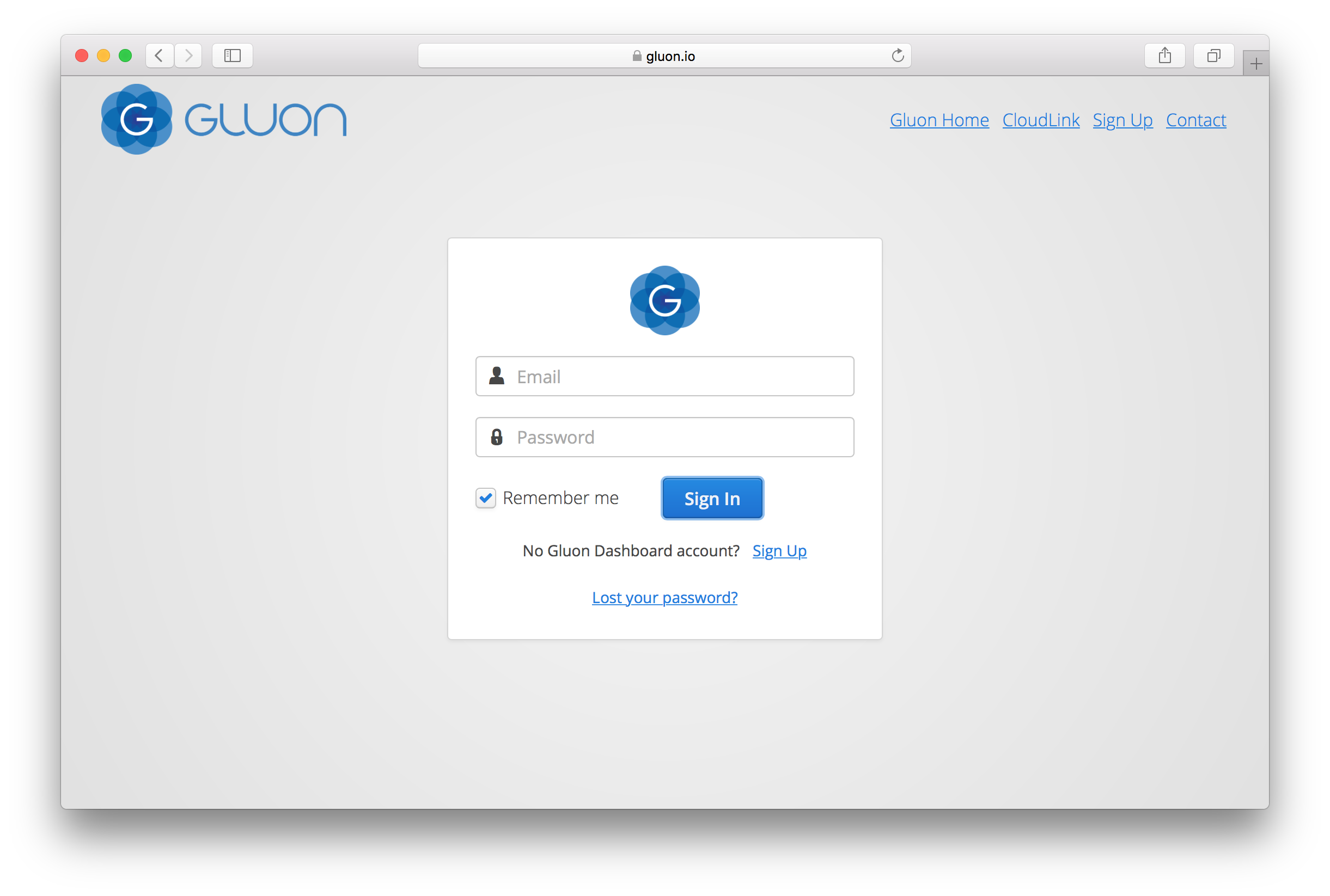 Gluon CloudLink Documentation